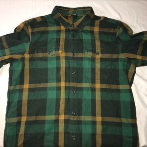 Mens Patagonia heavy weight flannel